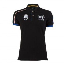 Team Black Polo Shirt