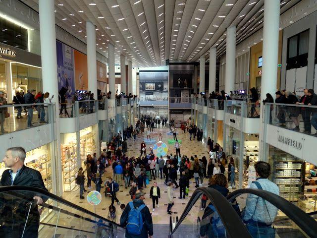 Hoog Catharijne shopping mall in Utrecht