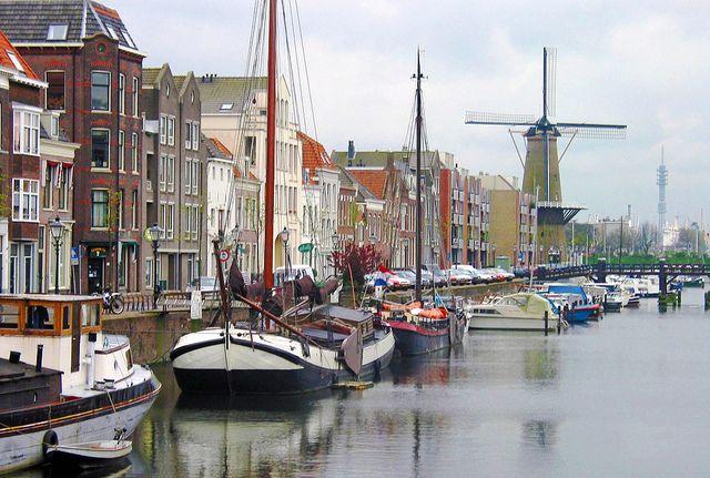 Ship harbor in Amsterdam.# Viking River Cruises