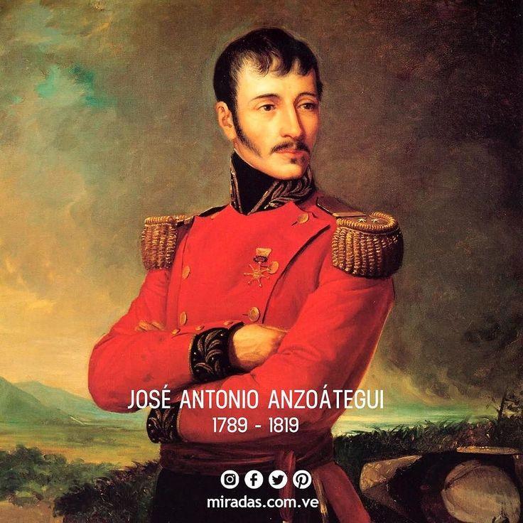 Hoy conmemoramos el natalicio de nuestro héroe epónimo José Antonio Anzoategui. . José Antonio Anzoátegui y Hernández (Barcelona Estado Anzoátegui Venezuela 14 de noviembre de 1789 - Pamplona Colombia 15 de noviembre de 1819) fue uno de los más importantes oficiales del Ejército neogranadino en la Guerra de Independencia y Jefe de la Guardia de Honor de Simón Bolívar. . . Se incorporó a la lucha por la independencia en 1810. Dos años más tarde formó parte de la Campaña de Guayana al mando…