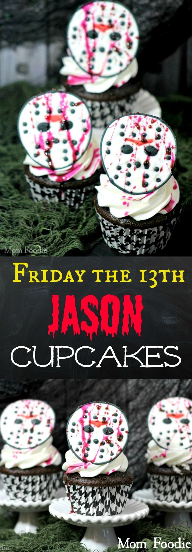 Friday the 13th Jason Cupcakes - DIY Hallowee…