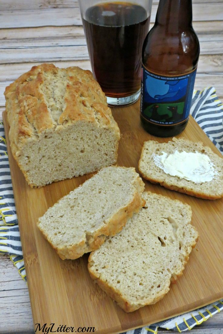This 3 Ingredient Beer Bread Recipe is so easy & delicious! It goes great with a hearty stew and salad for a filling dinner. A quick bread recipe that everyone will keep asking for!