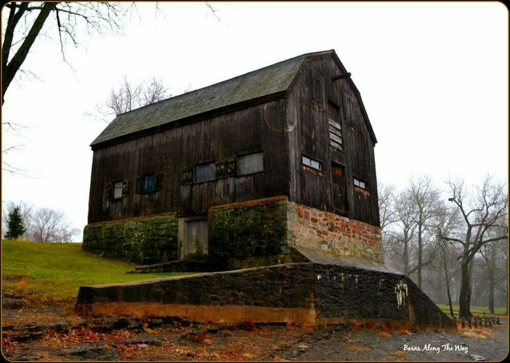 This barn is actually a historic maritime warehouse that was built in 1694 and was used to store wooden barrels over the winter when the river froze. It now sits along the a cove on the CT River but was once located on another location. during the 1936 flood it lifted off its original foundation and with the help of a massive amount of inmates from the local prison, was moved to this location. the siding has been replaced a couple times over the years but the post and beam remain original.
