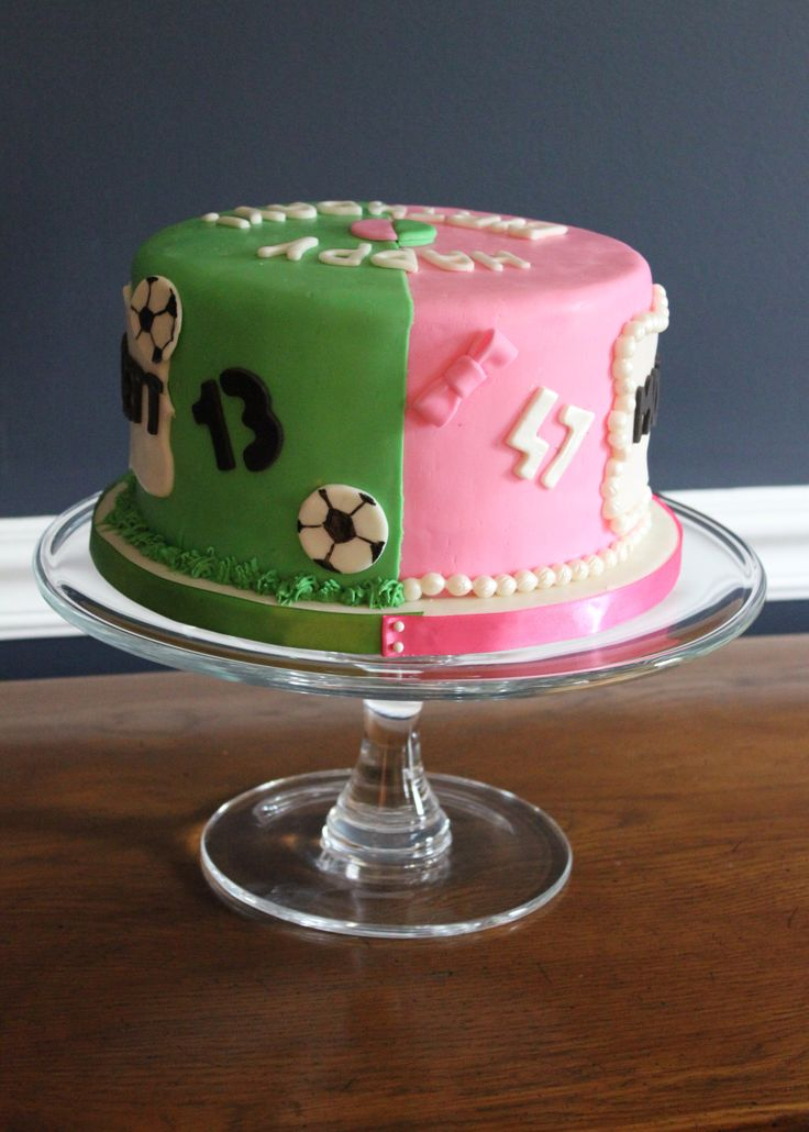 Shared Birthday Cake For A Mom And Son Somersetcakes Our
