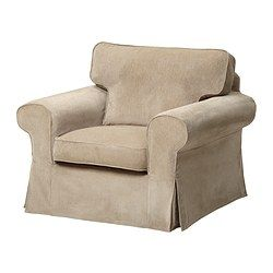 EKTORP Chair cover - Vellinge beige - IKEA