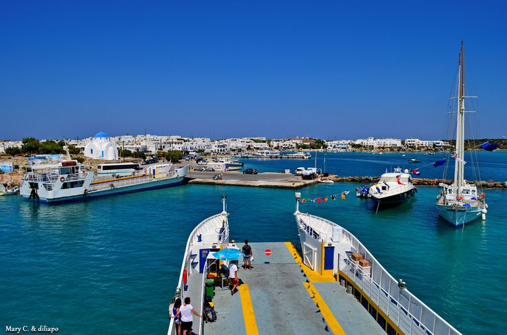 "Photo Mania Greece: ☼✩♥ Η ""παντοφλα"" προσεγγιζει Αντιπαρο ☼✩♥"