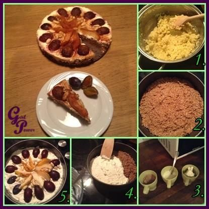 Őszi kölestorta  Hozzávalók  A köleses réteghez: ¾ bögre köles ¾ bögre csokis proteinpor ¾ bögre natúr joghurt 1 db tojás folyékony édesítőszer (vagy agavészirup) kevés kókuszzsír a tortaformához  A túrós réteghez  ¾ bögre túró ¾ bögre natúr joghurt folyékony édesítőszer (vagy agavészirup)   https://www.facebook.com/photo.php?fbid=515860055165502&set=pb.470851386333036.-2207520000.1386272598.&type=3&theater