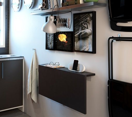 17 mejores ideas sobre mesa plegable en pinterest mesa for Mesa plegable de pared