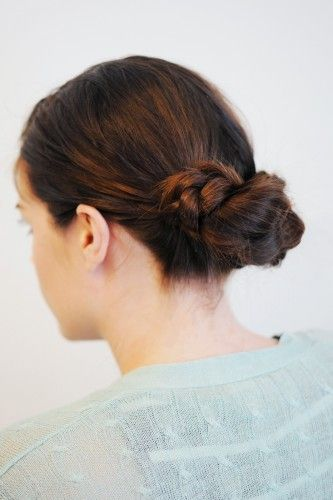 Braid bun tutorial: Easiest Updo, Easiest Braids, Braids Hairstyles 9, Schools Hair, Braid Hairstyles, Easy Braids Updo, Twists Braids, Knot, Braids Buns