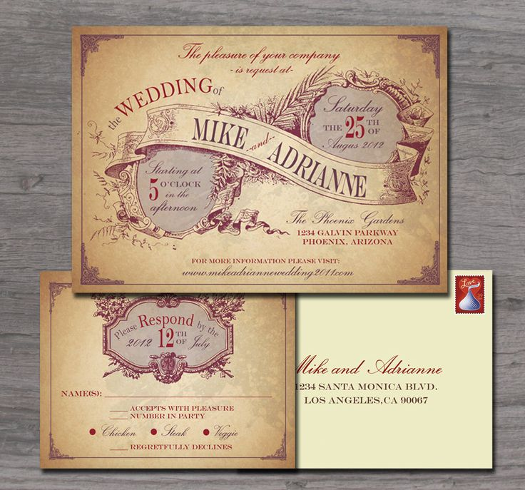Country Wedding Invitations | Rustic Country Wedding Invitation Sample Set  FREE Shipping Within The .