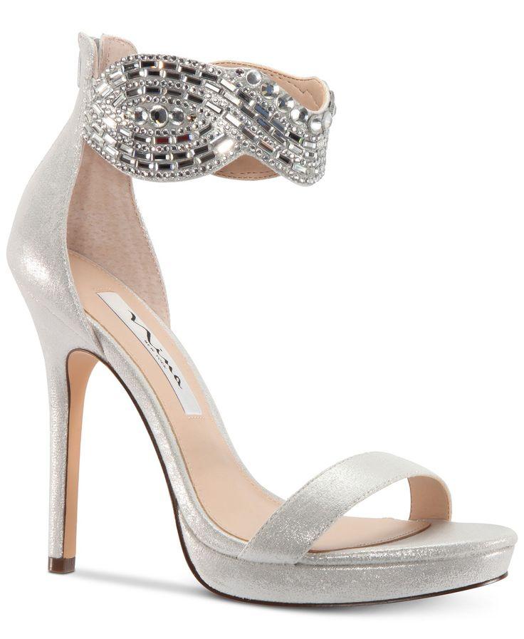 Red Leather Crystal Sandals Flip Flops Shoes - 1ST C & R