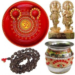 Om Pooja Thali With Laxmi-Ganesh Statue, Mala, 2 Decorated Diya Set for Diwali, Kalash/lota It is time to celebrate Diwali with CraftEra Diwali Sale Up to 50% off in all products. These all products are handmade and available in CraftEra with high quality.  https://www.craftera.in/Om-Pooja-Thali-With-Laxmi-Ganesh-Statue-Mala-2-Decorated-Diya-Set-for-Diwali-Kalash-lota diwali festival, diwali, craftEra diwali, craftEra diwali sale up to, Diwali sale, handicrafts online shopping, buys…