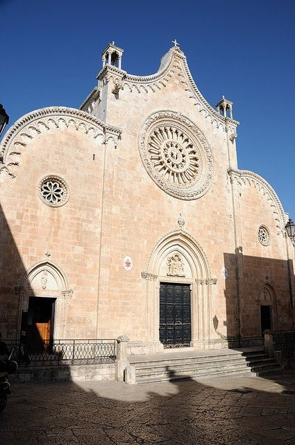 Cathedral, Ostuni - Apulia, Italy (late 15th century)