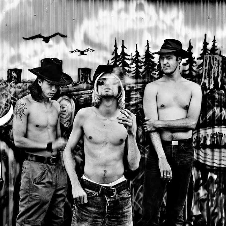 Nirvana,+Seattle,+1993  By Anton Corbijn