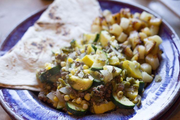 New Mexico Style Calabacitas[Recipe]