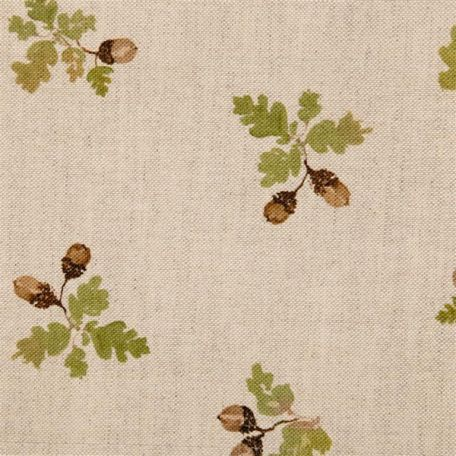 Something like this for the hall? Linen, natural, unflashly, paired with deep browns and taupes.