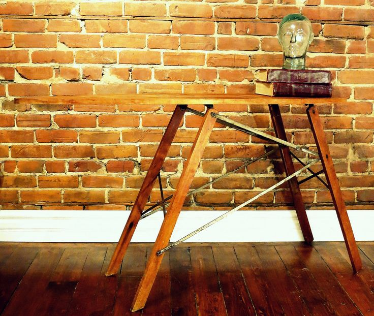 Re-purposed side table - Sold