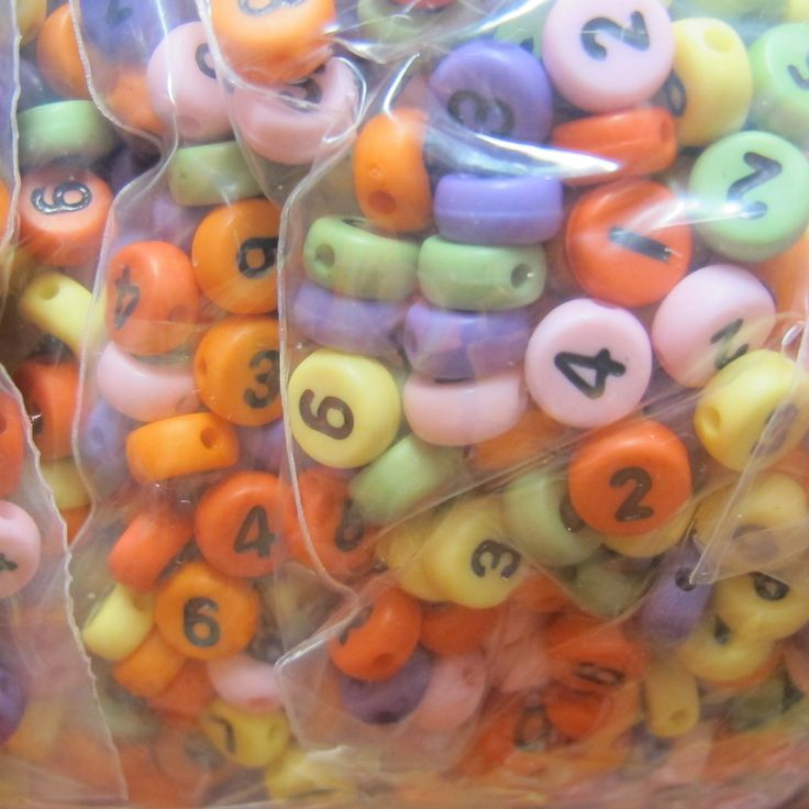 number beads