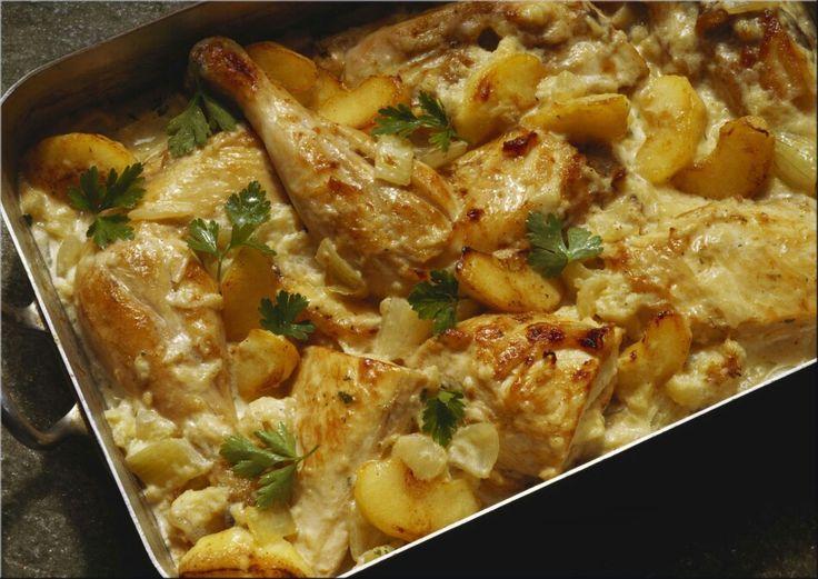 Cazuela de pollo de Sor Lucía- El Gourmet.