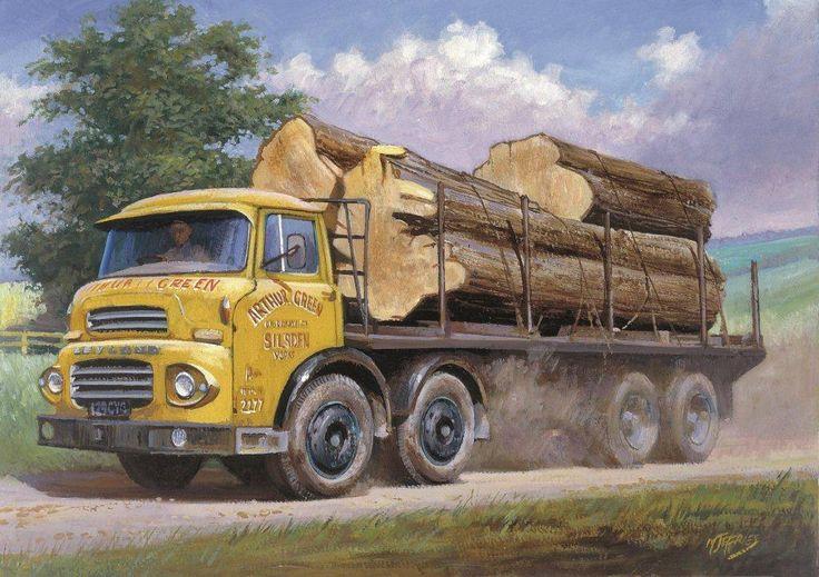 Round Timber Leyland Octopus » Transport Artist