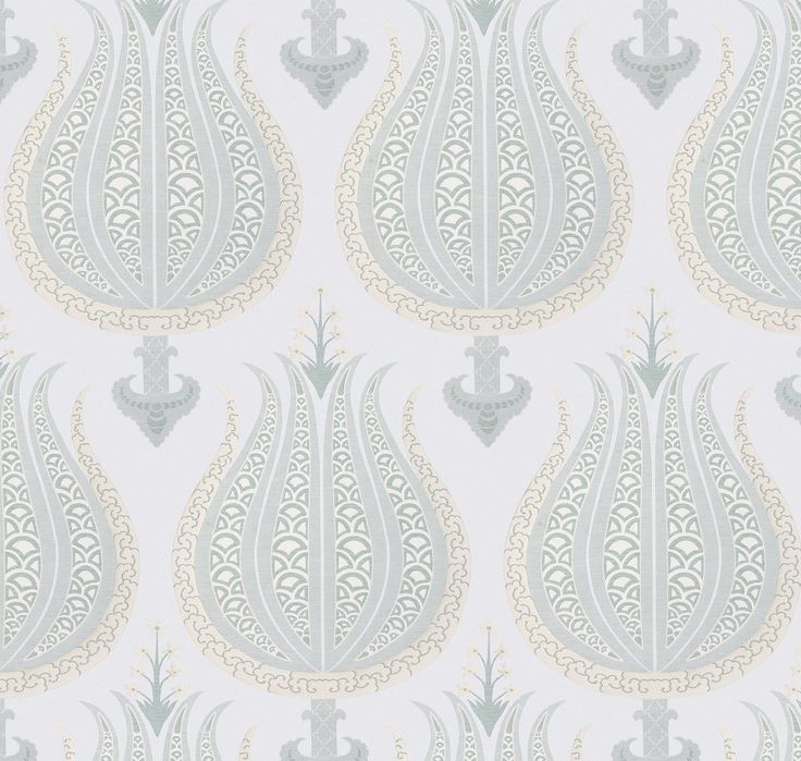 ~Thibaut - Anna French, Aleria fabric in aqua