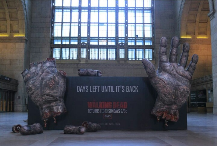 The Walking dead-Entirely creepy but really cool