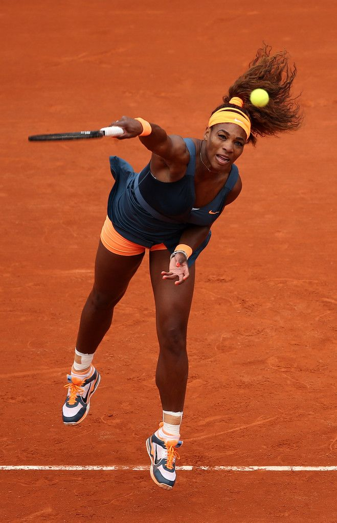 Serena Williams Photos: French Open: Day 1