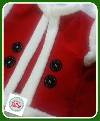 Chaleco navideño de santa claus