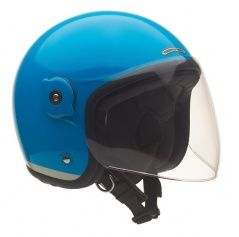 Kask El'met Fluorescent - Light Blue