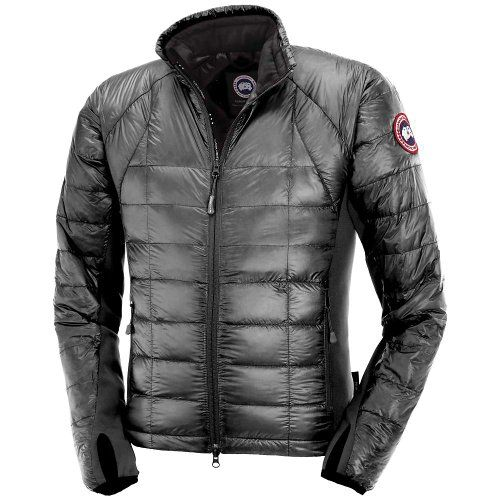 Canada Goose down outlet authentic - Canada Goose Hybridge Lite Jacket - Men's Graphite Medium | Coats ...