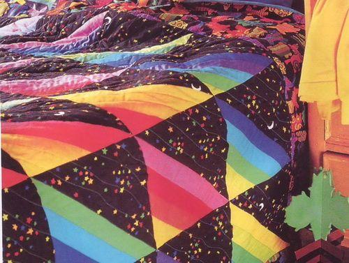 Стеганое одеяло «День и ночь» своими руками