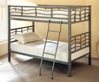 Bella y funcional es esta litera individual elaborada de metal en color plata. Ideal para su habitación. >> http://www.kidswarehouse.com.mx/cst-litera-individual-individual-de-metal-plata.html