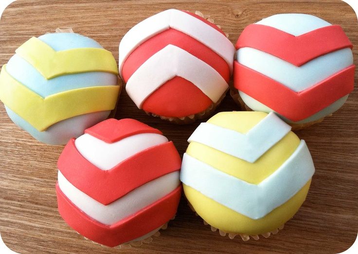 Chevron CupcakesThings Chevron, Chevron Cupcakes, Chevron Parties, Parties Stuff, Baby, Photos Shared, Cupcakes Rosa-Choqu, Sugar, Chevron Obsession