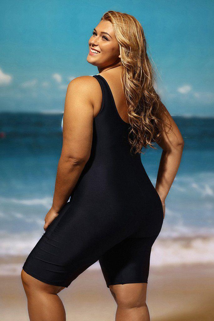 f0ef565f07 Achat Maillot de Bain Shorty 1 Piece Femme Ronde Noir Bleute Imprime Modele  Conserve Pas Cher,Acheter en Solde de Maillots De Bain Grande Taille en  Ligne!