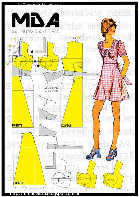 A4 NUMo 0148 DRESS | ModelistA | Bloglovin'