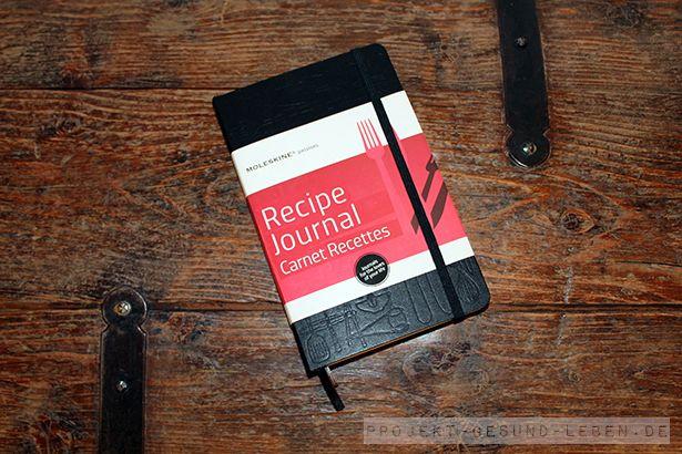 """Das """"Recipe Journal"""" aus der """"Passion Journal""""-Reihe von Moleskine."""