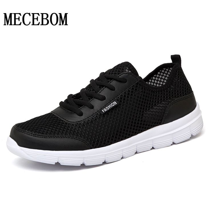 Men casual Shoes 2017 New Comfortable Men Shoes Air Mesh net Breathable Fashion lace-up light shoes Plus Size 35-48 1607 #hats, #watches, #belts, #fashion, #style