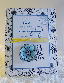 Stampin' Up! Amazing You handmade card