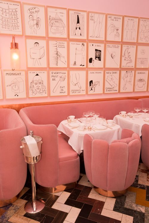 Afternoon Tea & Ted Baker - Gal Meets Glam- Wall art at Sketch in London