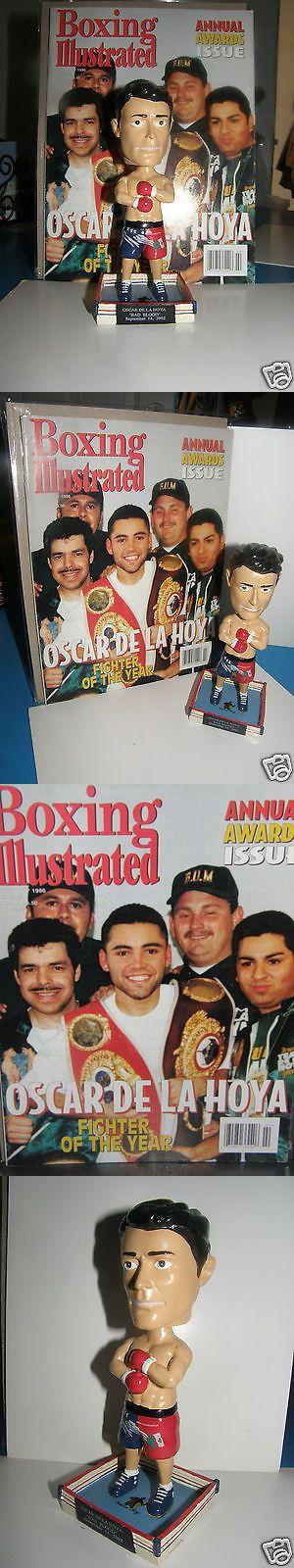 Bobble Heads 73424: Oscar De La Hoya Bobble-Head And1996 Nostalgic Magazine Golden-Boy Trade-Mark -> BUY IT NOW ONLY: $75 on eBay!