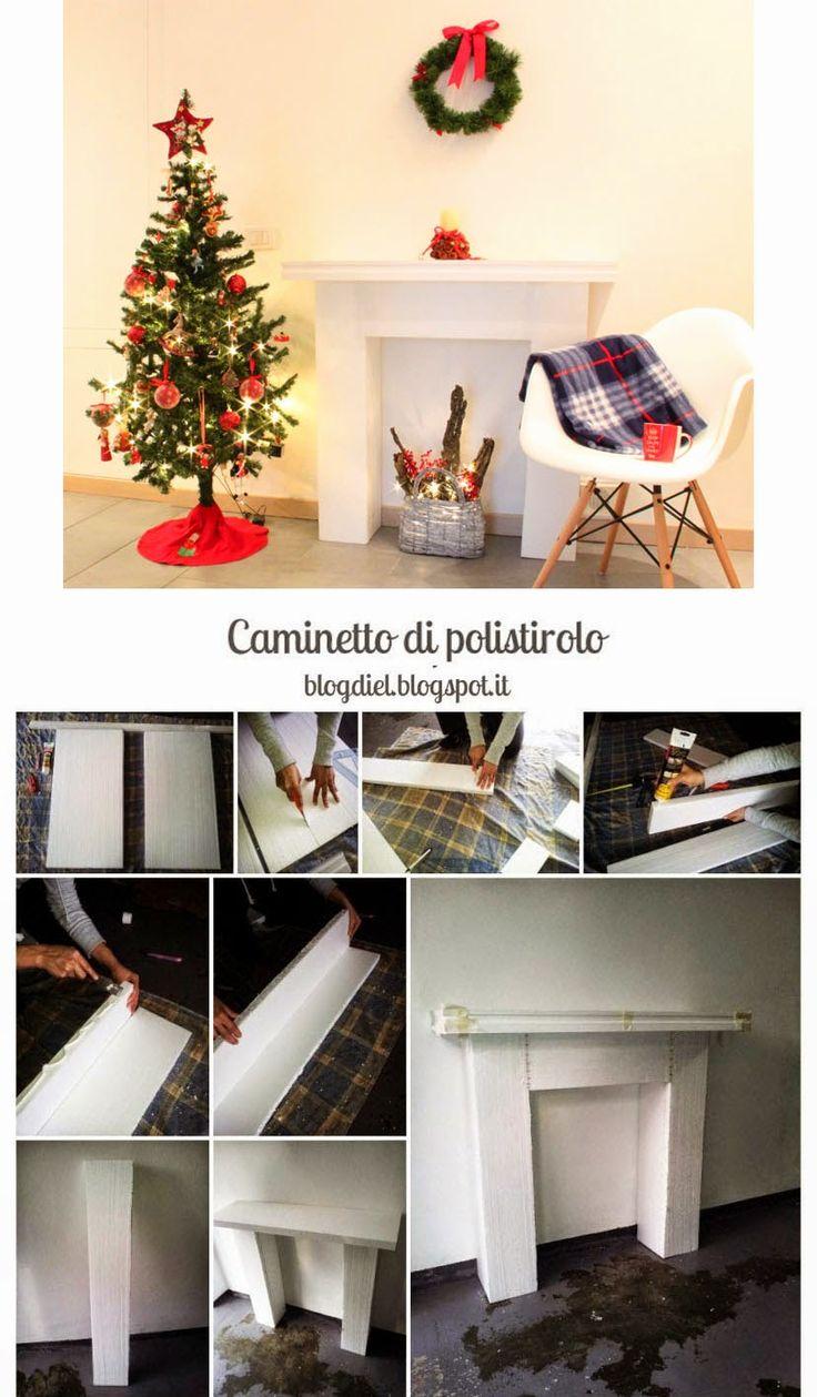 Oltre 25 fantastiche idee su cornice fai da te su for Finto camino natalizio