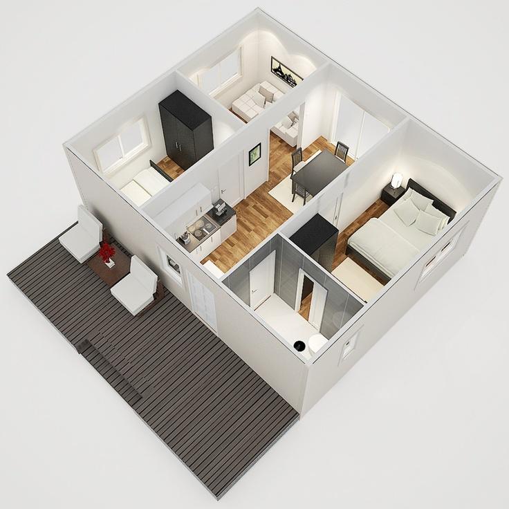 House Logic Granny Flats Have a Modern Design.