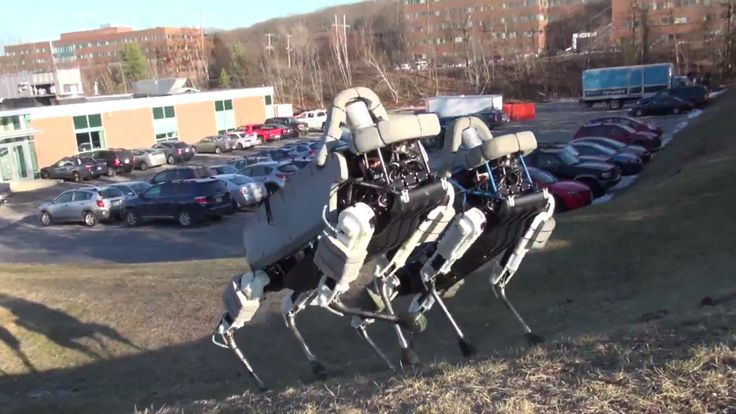 Boston Dynamics, the robotics company purchased by Google in 2013, is best known for BigDog, a quadrupedal robot designed to navigate rough terrain. Now BigDog has a baby brother. Spot is a smaller...