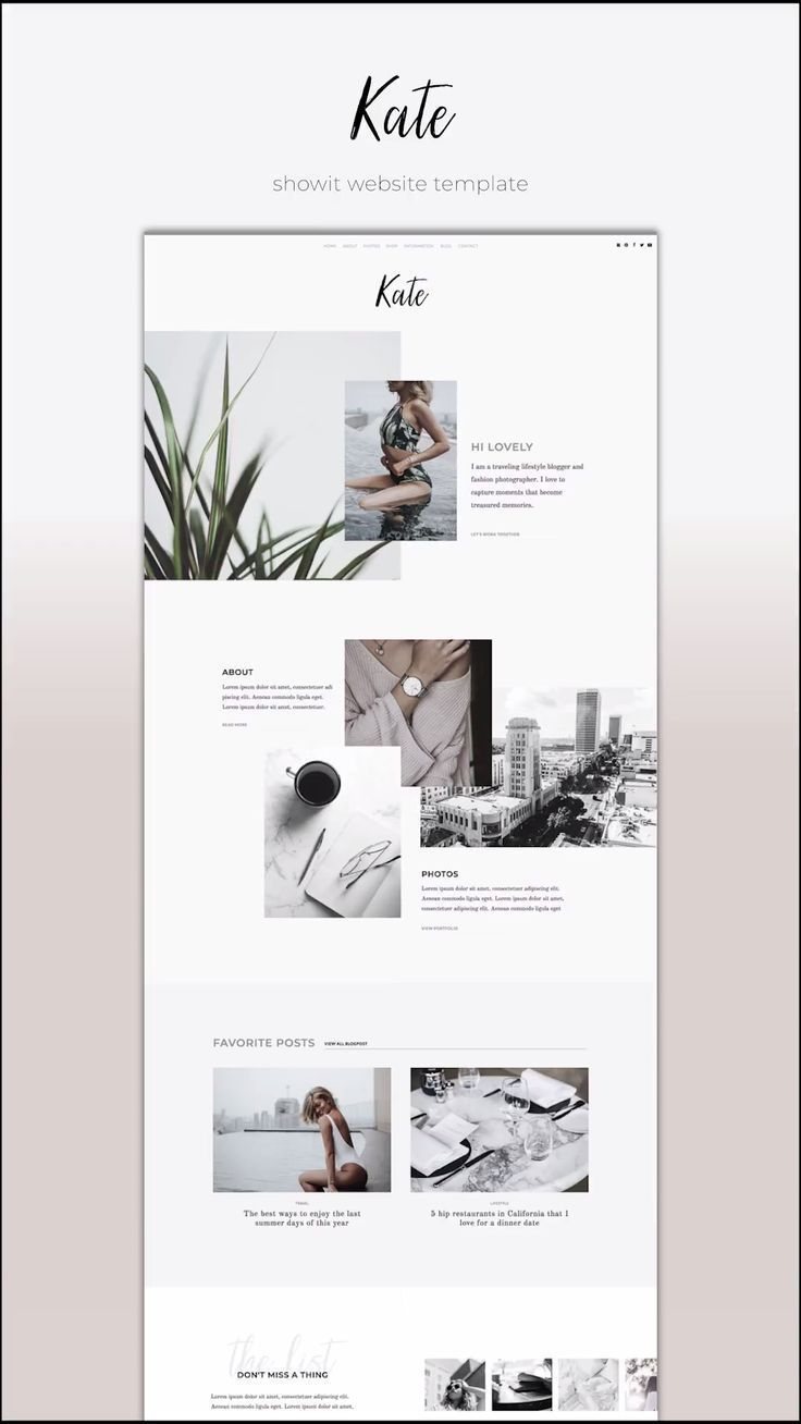 Kate Showit The Roar Web Design For Creatives Showit Website Templates In 2020 Minimal Web Design Website Design Layout Modern Website Design