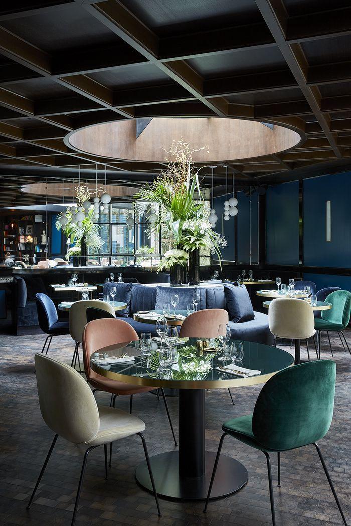 Les nouveaux restaurants parisiens de la redaction AD Le Roch 28 rue Saint Roch 75001 Paris http://www.leroch-hotel.com/