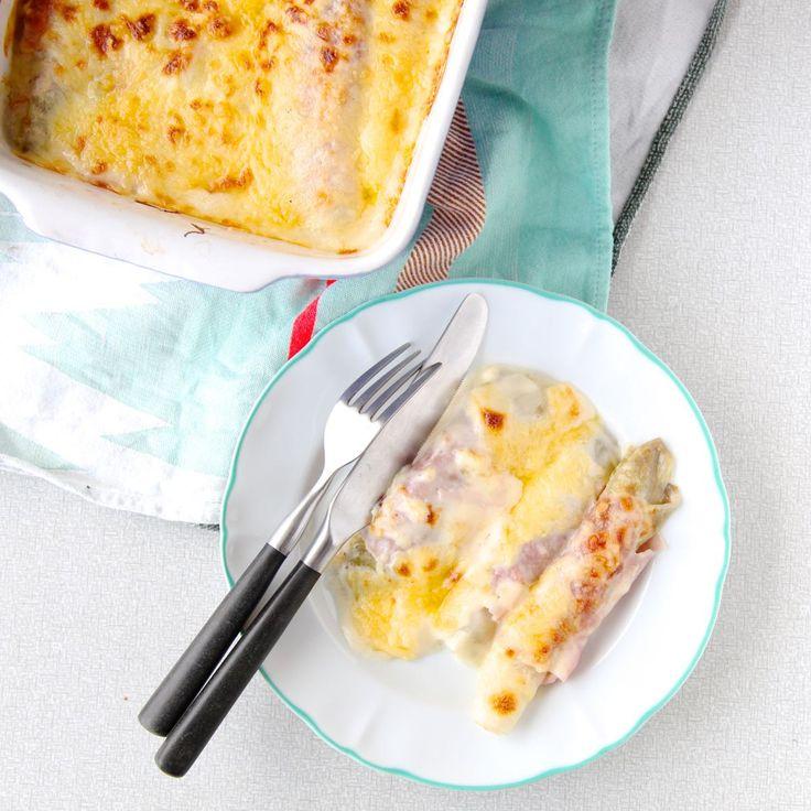 witlof met ham en kaas uit de oven
