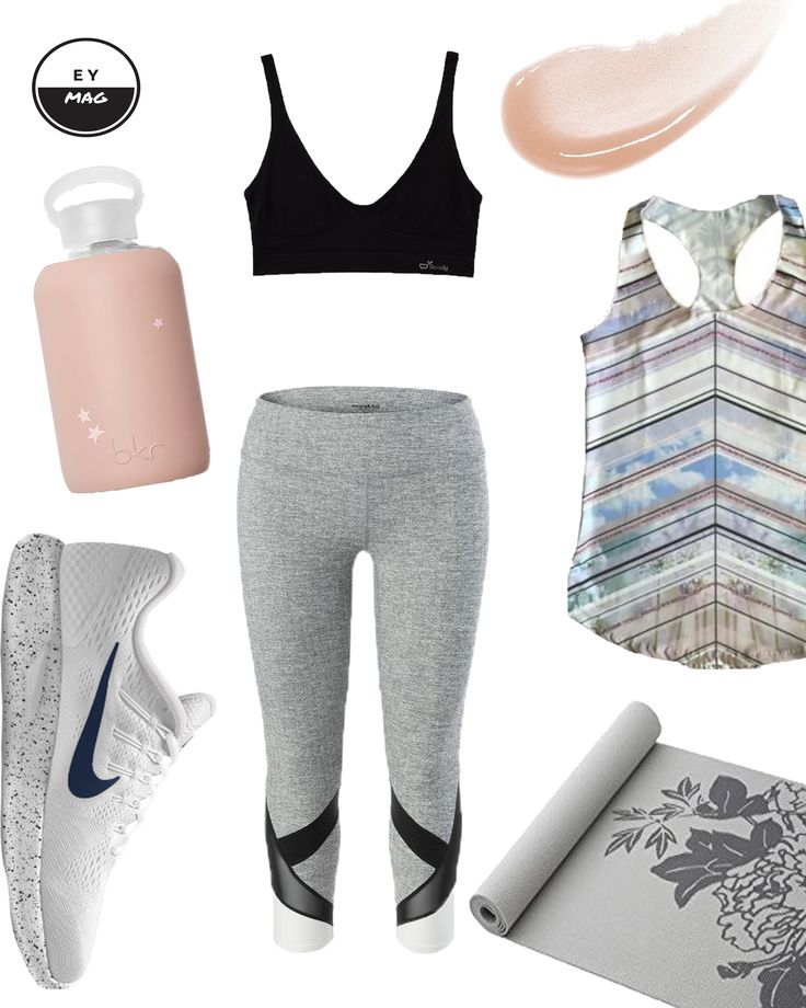 ACTIVEWEAR: ROSE + GREY