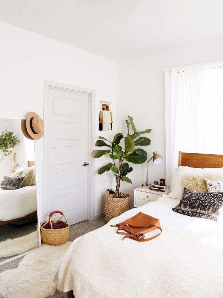 40 + schöne Mitte Jahrhundert Schlafzimmer Design Dekor Ideen