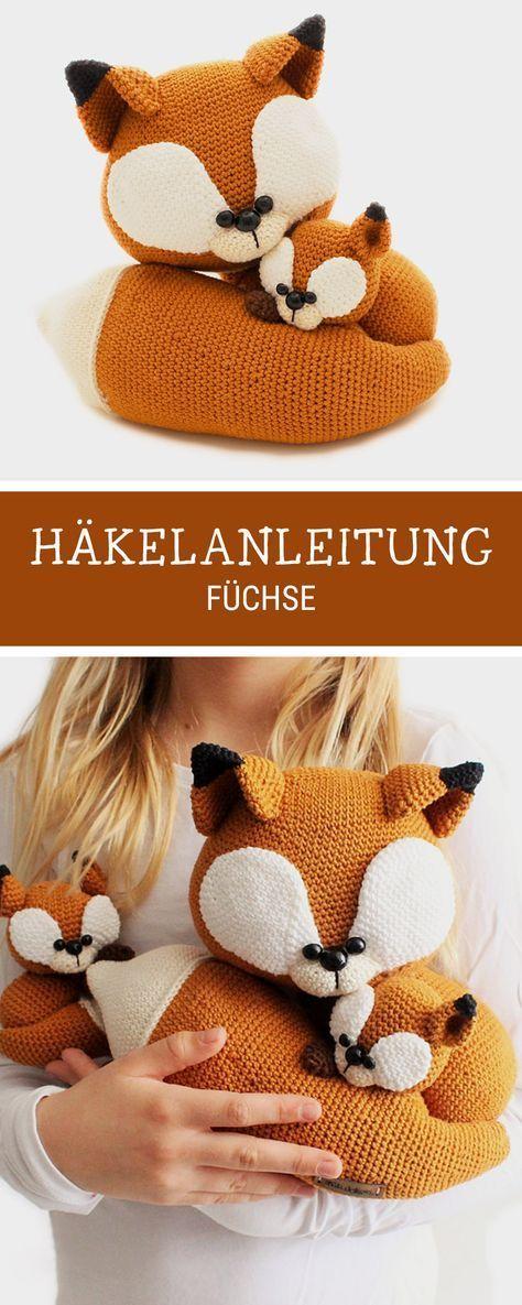 62 best Häkeln images on Pinterest | Crochet stuffed animals ...