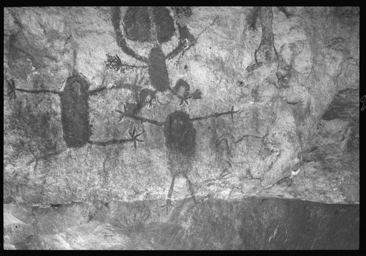 274221PD: Aboriginal paintings near Jooroo Ridge north of Mt Leeming, 1954. http://encore.slwa.wa.gov.au/iii/encore/record/C__Rb2460701__S274221pd__Orightresult__U__X3?lang=eng&suite=def